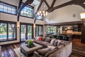 Country Home rustic-living-room