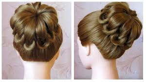 Tuto Coiffure Simple Cheveux Mi Long Long Chignon Tress Facile