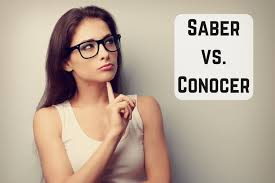 Saber Vs Conocer Rules Practical Tips Examples