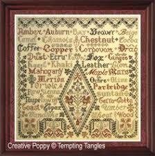 Desiderata Cross Stitch Chart 24 Best Tempting Tangles Images Cross Stitch Cross Stitch