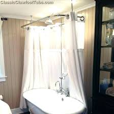 clawfoot tub shower curtain solutions tub shower surround shower curtain for tub tub shower curtain solutions