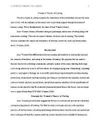 sample essays on nursing theory papers   essay nur  theorieodels of nursing practice course