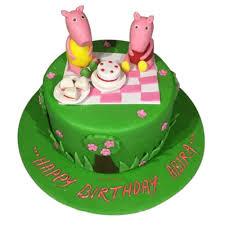 Peppa Pig Birthday Cake Online Best Designs Yummycake