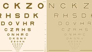 Moorfields Acuity Chart Novel Sight Test Detects Early Age