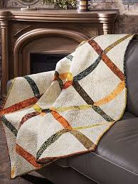 33 best Exclusively Annie's Quilting Patterns images on Pinterest ... & Pieced Lap Quilt & Throw Patterns - Grab some dynamite fat quarters and get  to work on this easy-to-stitch quilt! Use a variety of leftover fat  quarters or ... Adamdwight.com