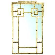 gold bamboo mirror. Bamboo Mirrors Wall Mirror Crackle Large Cyan Design . Gold B