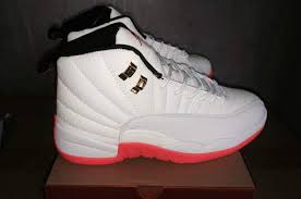 jordan basketball shoes 2017. 2017 for men\u0027s basketball shoes sale. girl-jordan -12-xii-white-off-white-pink- jordan
