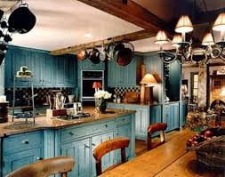 blue country kitchens. Decor Blue Country Kitchen Designs The Interior Design Inspiration Kitchens