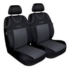 ts 3 black gray car seat covers set for nissan murano i z50 ii z51