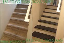 Carpet To Hardwood Stairs One Day At A Time Inexpensive Diy Carpet To Wood Stairs