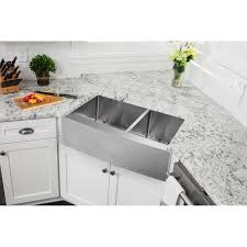 Farmhouse Apron Kitchen Sinks Soleil 35875 X 2075 Double Bowl Farmhouse Apron Kitchen Sink
