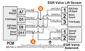 1996 1998 egr valve lift sensor circuit diagram (1 6l civic) egr valve testing procedure at Egr Valve Wiring Diagram
