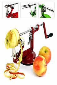 Pratik Elma Soyma ve Dilimleme Makinesi Elma Dilimleyici Aparat