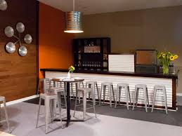 Decorations  Chic Black Liquor Wine Cabinet Made Of Wood On - Home liquor bar designs