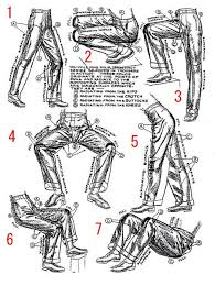 Pants Drawing Reference How To Draw Folds In Pants Resources Drawings Drawing Tips