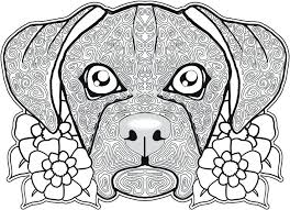 Free Printable Dog Coloring Pages For Kids Coloring Page Of Dog