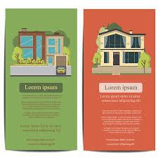 Brochure Template Design. Concept Of Architecture Real Estate ...