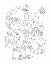Small Picture Angry Birds Star Wars Coloring Pages httpbecscoloringpages