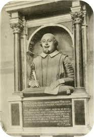 shakespeare s image authentic portraits of shakespeare and bust of shakespeare