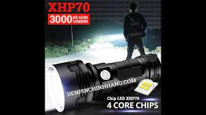 Đèn pin siêu sáng P70 cao cấp - YouTube
