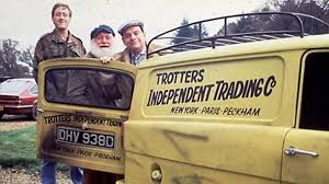 nicholas lyndhurst buster merryfield and david jason in only fools and horses