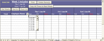 Excel Timesheet That Will Keep Track Of Your Employees Hours Up
