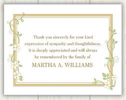 Thank You For Sympathy Card Card Design Ideas Brown Wood Frame Color With Flowers Thank You
