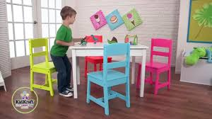 lipper childrens walnut roundable and chairsoys kidkraftarget kidkraft round storage table 4 chair