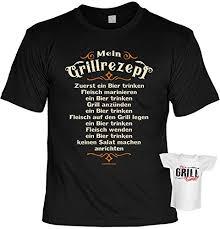 Tini Shirts Griller Sprüche Tshirt Lustiges Grill Set Griller