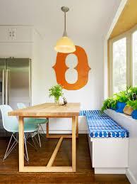 Built in Kitchen Storage Benches - Williamsburg Renovation contemporary- kitchen