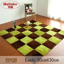 foam floor tiles soft foam puzzle baby play villus floor tiles exercise fur mat lot in