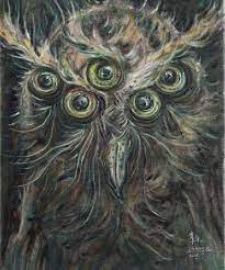 Art Platform ~ Bird of Minerva No.2 by Changle
