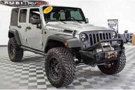 pre owned 2010 jeep wrangler rubicon unlimited billet