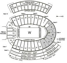 Camp Randall Student Section Seating Chart Wisconsin Badgers 2016 Football Schedule