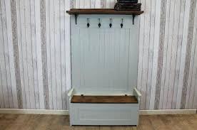 Beadboard Entryway Coat Rack Shining Ideas Coat Rack With Bench Seat Hall Tree Oak Finish Entry 64