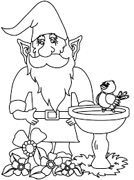 Small Picture Gnome3 Fantasy Coloring Pages Coloring Book