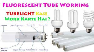 How Do Fluorescent Light Bulbs Work Explained Fluorescent Tube Lamp Working