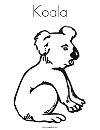 Small Picture Koala Coloring Page Twisty Noodle