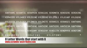 8 letter word with x 8 letter words that start with x youtube