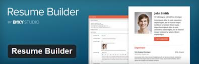 Resume Builder is a simple plugin that allows you to build a resume inside  any WordPress theme. It includes sections for an About Me paragraph, your  skills, ...
