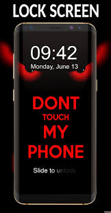 Dont Touch My Phone Wallpaper Free ...