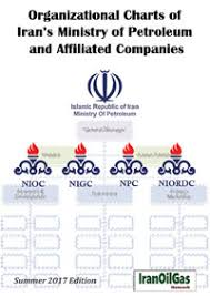 Organizational Charts Of Irans Ministry Of Petroleum And