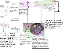 ford 9n 2n 8n discussion board re 12v wiring system