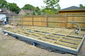 steel and timber frame base for garden shed