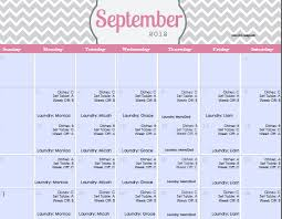 monthly house cleaning schedule template my ultimate happy home cleaning routine plus free printable