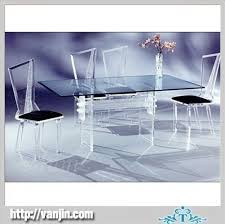 modern transparent acrylic perspex table and chairs acrylic perspex furniture