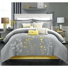 yellow and gray comforter set queen best ideas on grey sets canada yellow and gray comforter set