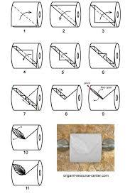 Toilet Paper Origami Flower Instructions Stanislav Ardentov Ardentov On Pinterest