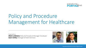 Policy and Procedure Management for Healthcare