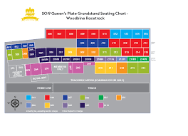 Woodbine Grandstand Seating Chart 2019 Eomarch V1 Queens